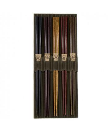 Coffret de 5 paire de Baguettes Japonaise Kenzai